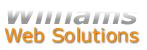 This website is designed and hosted by Williams Web Solutions.  You can get your business online using Williams Web Solutions by clicking here.